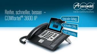 COMfortel 3600 IP – Das neue High-End-Hybrid-Telefon