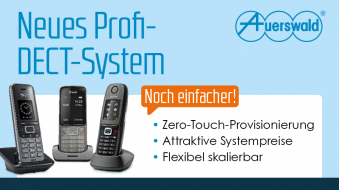 IP-DECT erobert die Business Class – Neues Profi-DECT-System